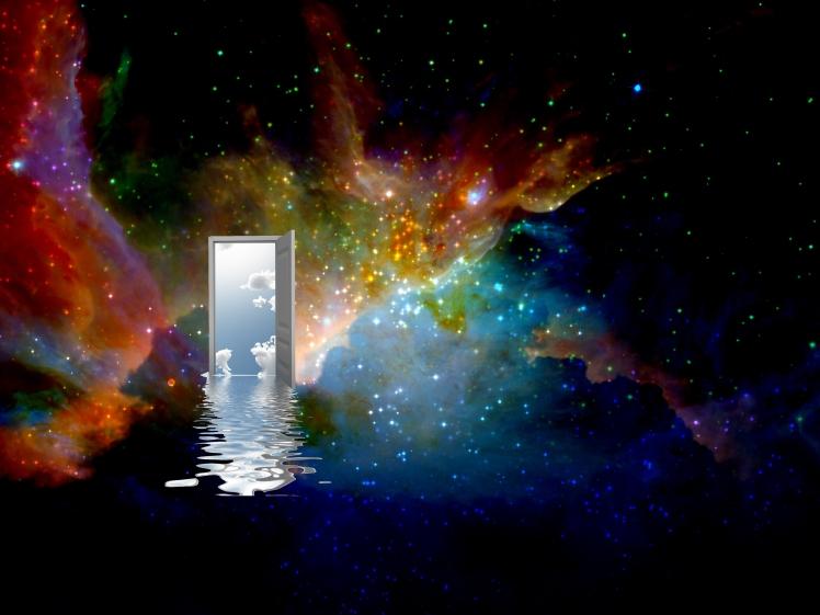 door in the universe